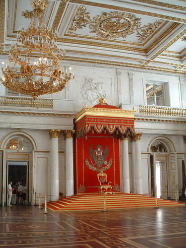 The Imperial Russian Throne 55