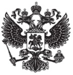 RUSSIAN DOUBLE EAGLE black and white