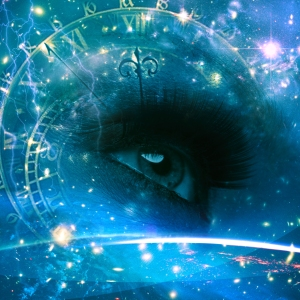 Eyes of the Universe, abstract environmental backgrounds