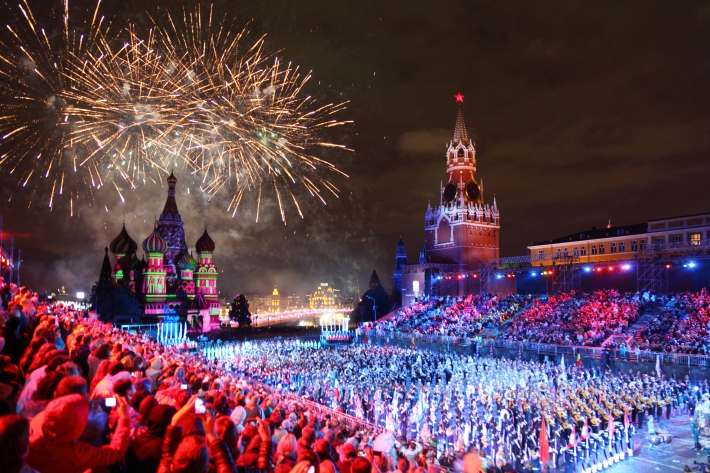 Image result for moscow new years eve