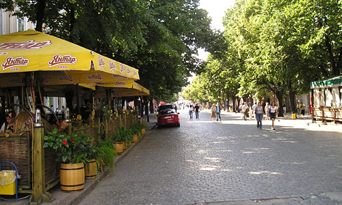 Pedestrian Deribasovskaya Ulitsa
