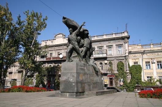 Potemkin sailors monument