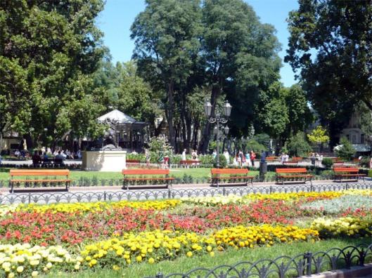 deribasovskaya city garden
