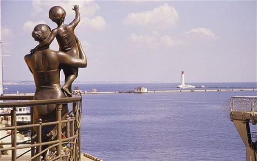 port monument