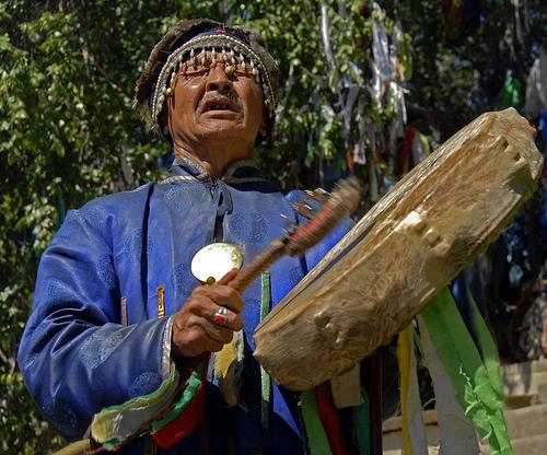 Shaman drumming