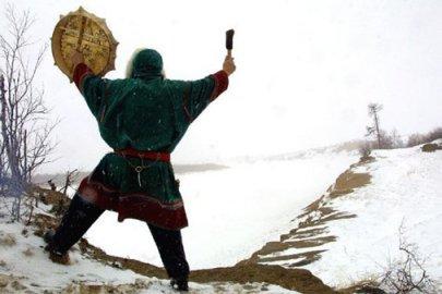 siberian shaman snow