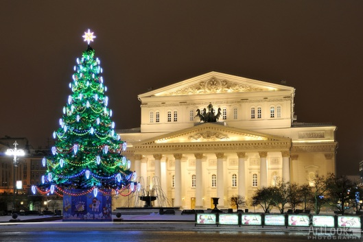 Bolshoi Theater before Christmas - Magic of Moscow by Moscow Guide and Driver