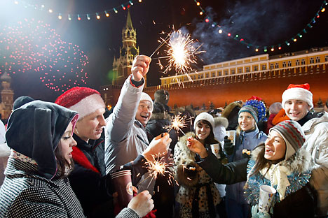 NY celebrations in Russia 2