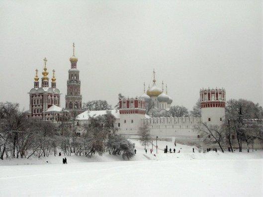 NY novodevichiy monastery
