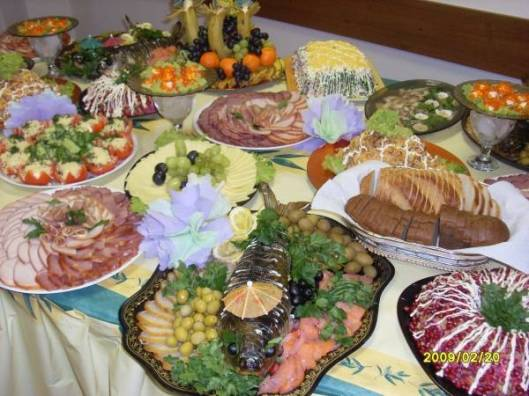 Typical Russian NY spread
