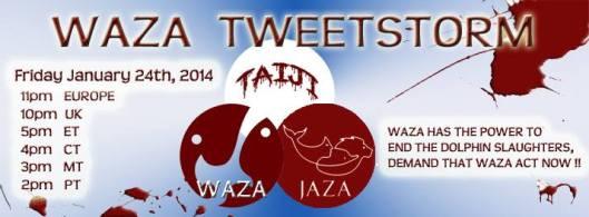WAZA tweetstorm 1 24 14