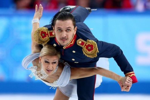 Russian pairs gold