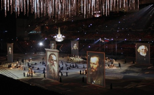 sochi closing tribute to rus literature 2