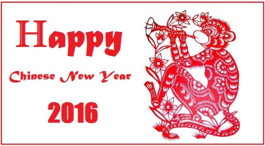 Chinese-New-Year-2016 monkey