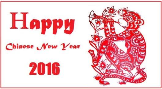 Chinese-New-Year-2016 monkey